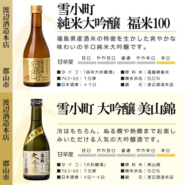 日本酒 おつまみ ギフト 包装・のし対応無料 大吟醸酒入り 飲み比べ 小瓶 300ml×4本 おつまみ2個 ふくしまプライド。体感キャンペーン(お酒/飲料)|sakenosakuraya|04