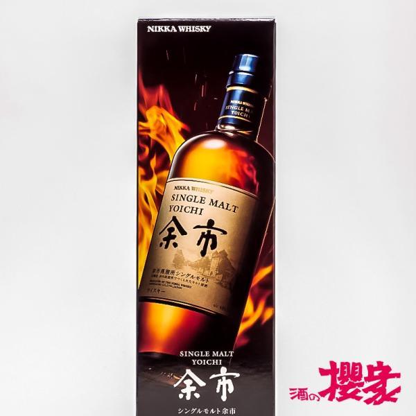 シングルモルト 余市 (化粧箱付き) 45° 700ml  ニッカ NIKKA ウイスキー|sakenosakuraya|04