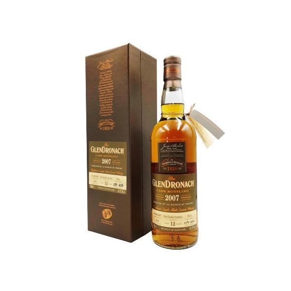ウイスキーグレンドロナック12年2007ペドロヒメネスパンチョンメゾンドウイスキー向け56.5度700ml