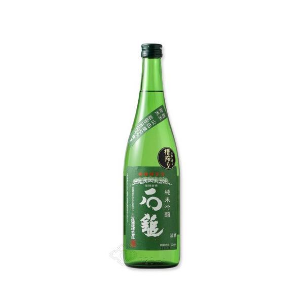 石鎚 純米吟醸 緑ラベル 槽搾り 720ml (日本酒/石鎚酒造/愛媛県/いしづち)|sakeweb|02