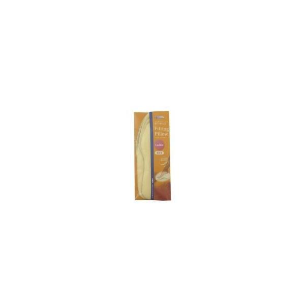 フィッティングピロー 足裏枕 インソール(靴用中敷き) レディス フリーサイズ(22〜25cm)