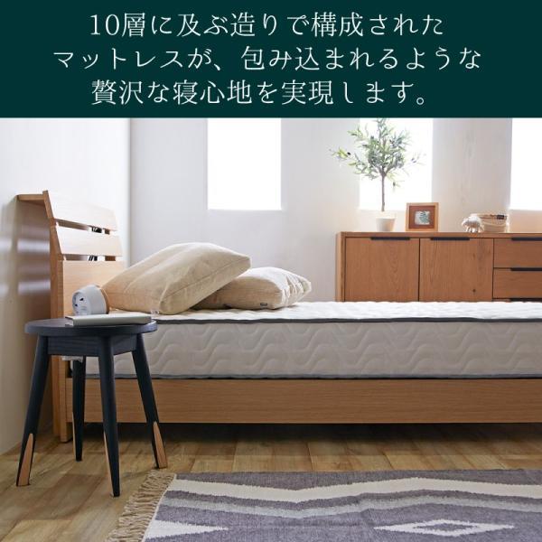 ポケットコイルマットレス ダブル 高反発 極厚 D 圧縮 マットレス ダブルマットレス ベッド マット 新生活 一人暮らし フェアリー HS|sakoda|15