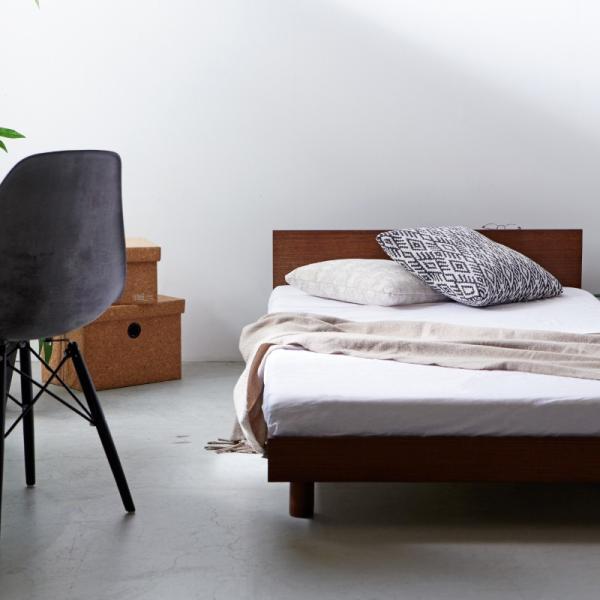 すのこベッド セミダブル ライフ スノコ ベッドフレーム SD 宮棚付き コンセント ベッド すのこ 通気性 脚付き 天然木 おしゃれ SJ Web限定 HS|sakoda|07
