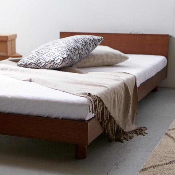 すのこベッド セミダブル ライフ スノコ ベッドフレーム SD 宮棚付き コンセント ベッド すのこ 通気性 脚付き 天然木 おしゃれ SJ Web限定 HS|sakoda|08