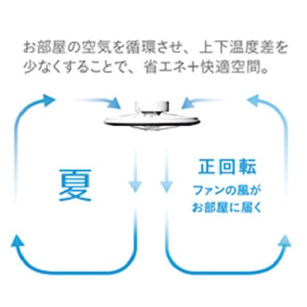 シーリングファン DCC-08CM 照明 ルミナス Luminous ドウシシャ LED シーリングサーキュレーター 8畳用 シーリングライト サーキュレーター Web限定 DS TS|sakoda|04