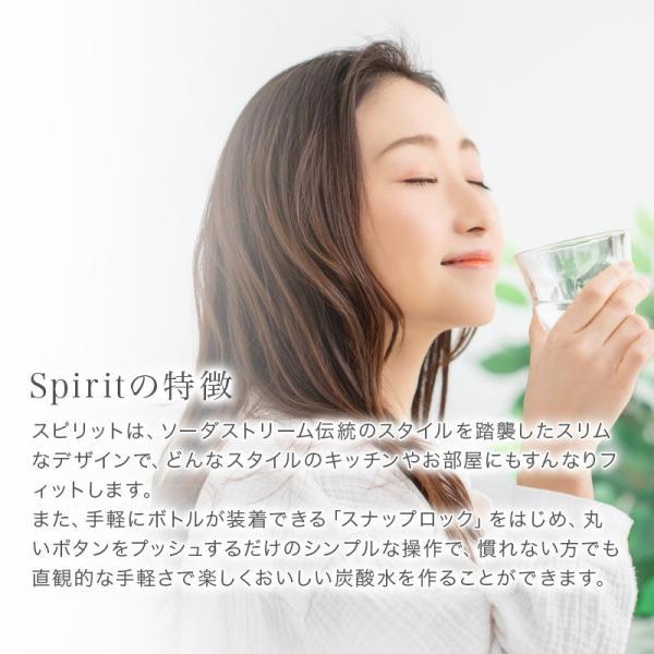 ソーダストリーム スピリット スターターキット レッド sodastream Spirit SSM1067 正規取扱店 web限定 KZ TS|sakoda|14