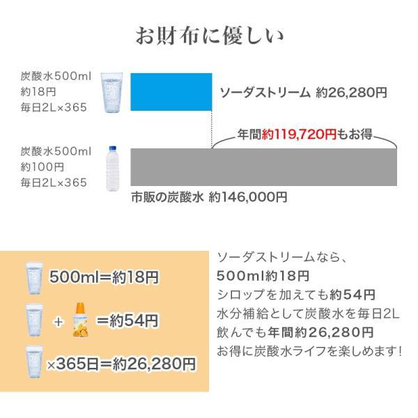 ソーダストリーム スピリット スターターキット ブラック sodastream Spirit SSM1068 正規取扱店 web限定 KZ TS|sakoda|07