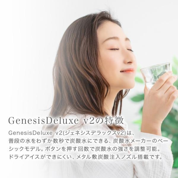 ソーダストリーム ジェネシス DXv2 スターターキット ホワイト sodastream GenesisDeluxe v2 SSM1069 正規取扱店 web限定 KZ TS|sakoda|15