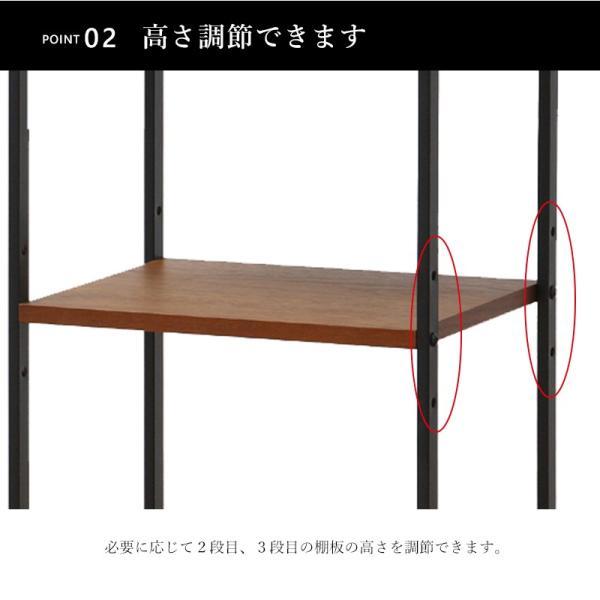 アンセム スリムラック anthem Slim Rack4段 ANR-2396BR MT Web限定 IC|sakoda|05
