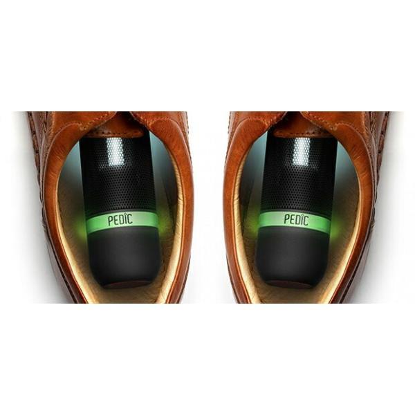 除菌器 ペディック ブルー 靴除菌器 PEDIC SPORT 1本 K1501-B 充電式UV 除菌器 くつ除菌 消臭効果 web限定 KZ TS|sakoda|02