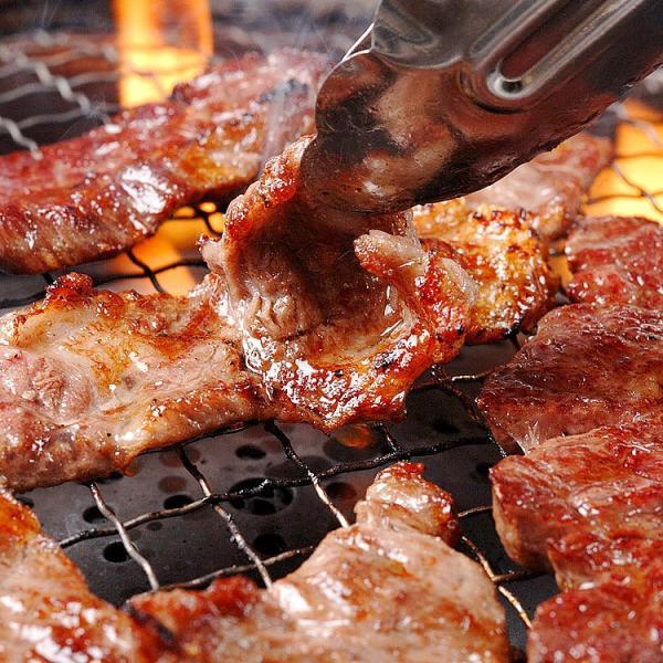 焼肉セット あすつく送料無料 国産牛肉 黒毛カルビ ハラミ ランプ 豚バラ 上ミノ 豚トロ 国産手羽先 4〜5人前 合計1kg|saku2|02