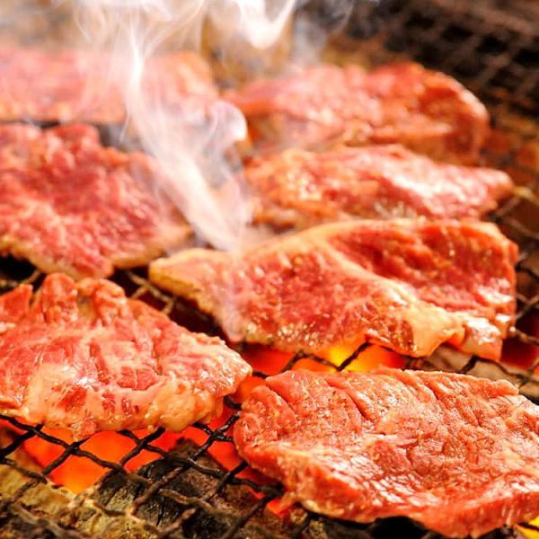 焼肉セット あすつく送料無料 国産牛肉 黒毛カルビ ハラミ ランプ 豚バラ 上ミノ 豚トロ 国産手羽先 4〜5人前 合計1kg|saku2|03