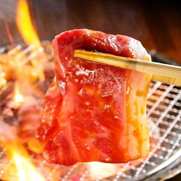 焼肉セット あすつく送料無料 国産牛肉 黒毛カルビ ハラミ ランプ 豚バラ 上ミノ 豚トロ 国産手羽先 4〜5人前 合計1kg|saku2|05
