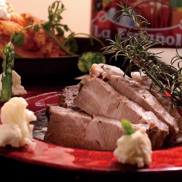 あすつく対応 国産豚肩ロース コンフィ 洋食 ものすごくしっとり!ジューシー!高級フランス料理店の味をご家庭で。|saku2|04