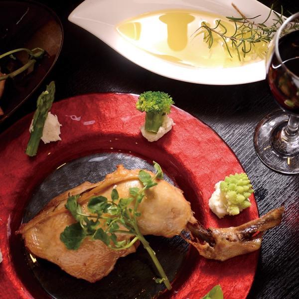 コンフィ 国産鶏もも肉コンフィ 骨付き ものすごくしっとり!ジューシー!特大12オンスの国産骨付き鶏モモ肉のコンフィ|saku2|05