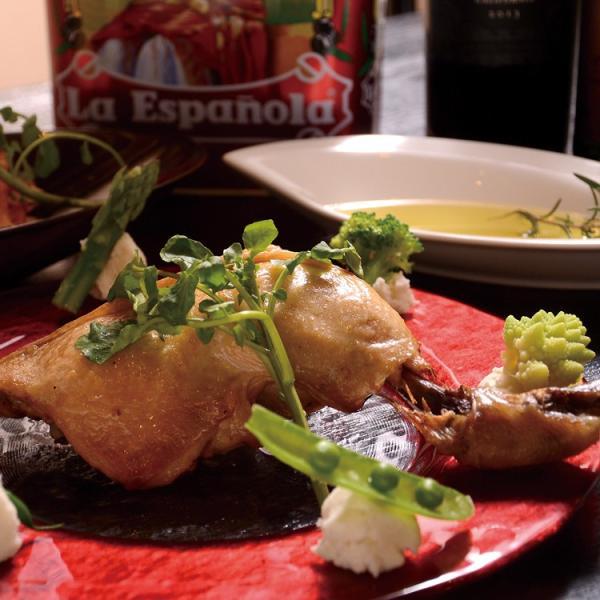 コンフィ 国産鶏もも肉コンフィ 骨付き ものすごくしっとり!ジューシー!特大12オンスの国産骨付き鶏モモ肉のコンフィ|saku2|06
