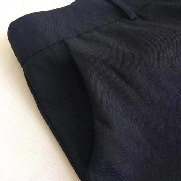 大きいサイズ フォーマル パンツ スーツパンツ スラックス ボトムス ブラック 通勤 通学 ビジネス オフィス 入学式 卒業式 発表会 同窓会 面接 体型カバー 黒 XL sakura3939 09