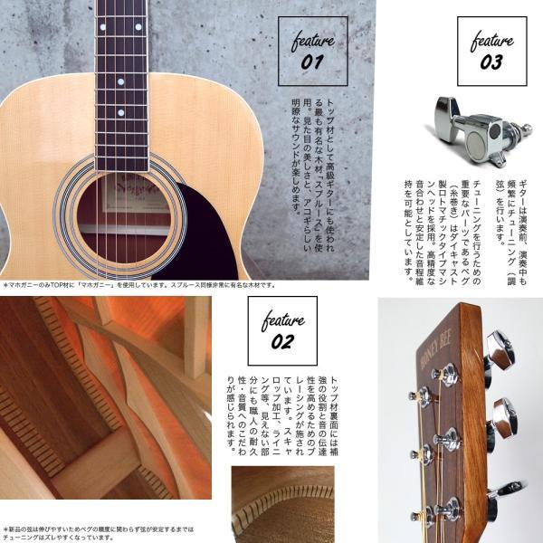 アコースティックギター初心者セット 16点入門セット W-15/F-15(大型)|sakuragakki|06