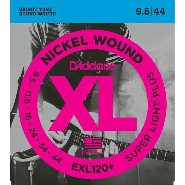 """(売れ筋!)D'Addario ダダリオ エレキギター弦 EXL120+ """"XL Nickel Round Wound"""" [daddario エレキ弦 EXL-120+](ゆうパケット対応)"""