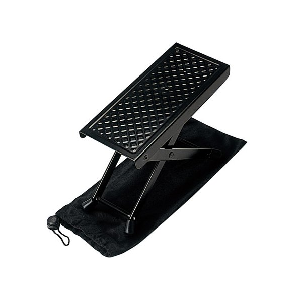 アルミ製ギター足台(フットスツール)GF-1800 GF1800  ゆうパケット対応