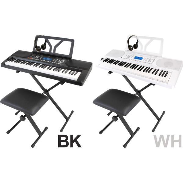 キーボード ONETONE OTK-61S (イス・スタンド・ヘッドフォン付き) 【楽器 子供 子供用 ワントーン OTK61 OTK61S】【大型】|sakuragakki|02