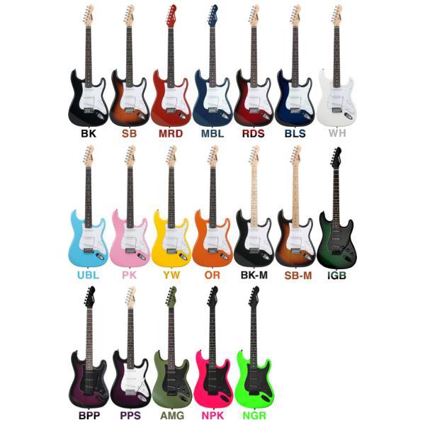 【今だけ教則DVD付き!】エレキギター リミテッドセット ST-16|sakuragakki|02