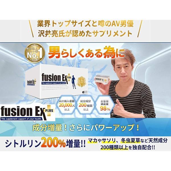 フュージョンEXプラス 2箱セット 2ヶ月分 シトルリン アルギニン他200種類以上の増大成分配合 男の増大サプリ fusionEX plus|sakuramedical|02