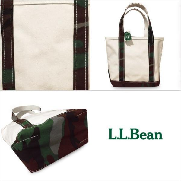 エルエルビーン トートバッグ L.L.Bean 送料無料  コットン キャンバストートバッグ  カモフラ S size正規店購入