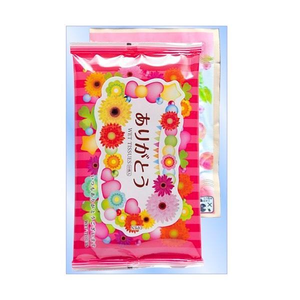 ありがとう 入浴剤&ウェットティッシュ  景品 粗品 入浴剤  プチギフト イベント sakuranboya 02