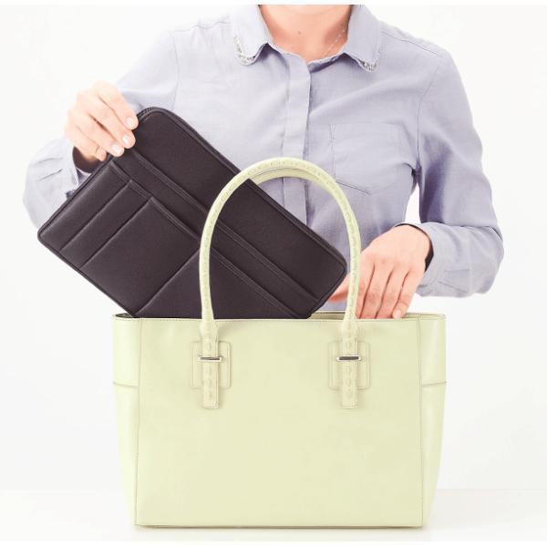 スマートクラッチバッグ  景品 粗品 販促品 記念品 プチギフト 文具 ビジネス バッグインバッグ 収納|sakuranboya|05