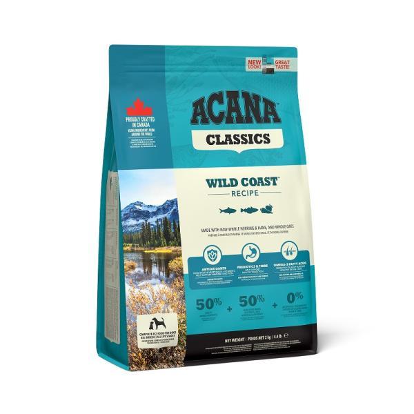 アウトレット賞味期限2021年5月27日 アカナクラシックワイルドコースト2kg ドッグフード  正規品