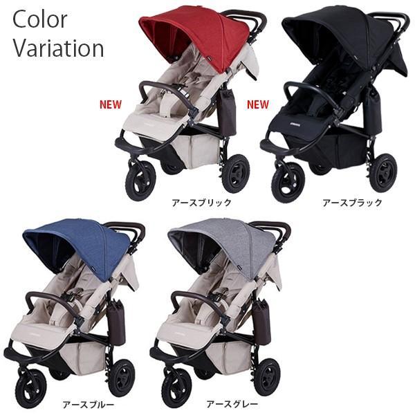 ベビーカー バギー 新生児 A型 エアバギー ココプレミア フロムバース COCO PREMIER FROM BIRTH ヘッドサポート付|sakurausagi|02