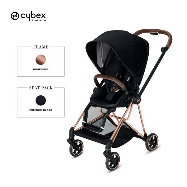 ベビーカー A型 新生児 バギー サイベックス ミオス コンパクト ローズゴールドフレーム cybex mios NEW 送料無料|sakurausagi|12