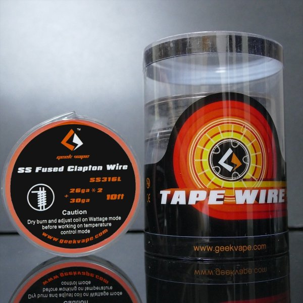 GeekVape SS316L Fused Clapton Wire  26Gx26+30G 10FT|sakuravapor|02