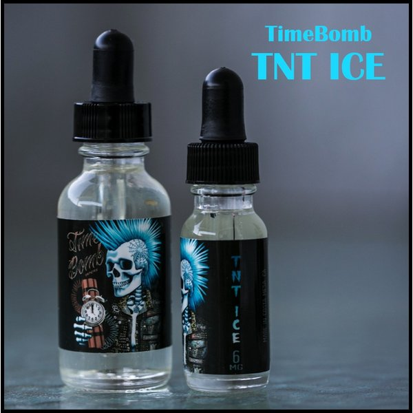 TimeBombVapors TNT ICE フルーツメンソール フレーバー 60ml|sakuravapor
