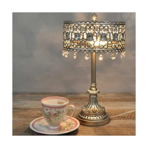 テーブルライト 卓上ライト テーブルランプ アンティークシルバー レトロ  おしゃれ 雑貨 sakuraworks 05
