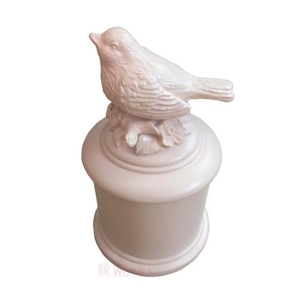 小物入れ レトロ 輸入雑貨 小鳥 グリーン おしゃれ 雑貨|sakuraworks|02