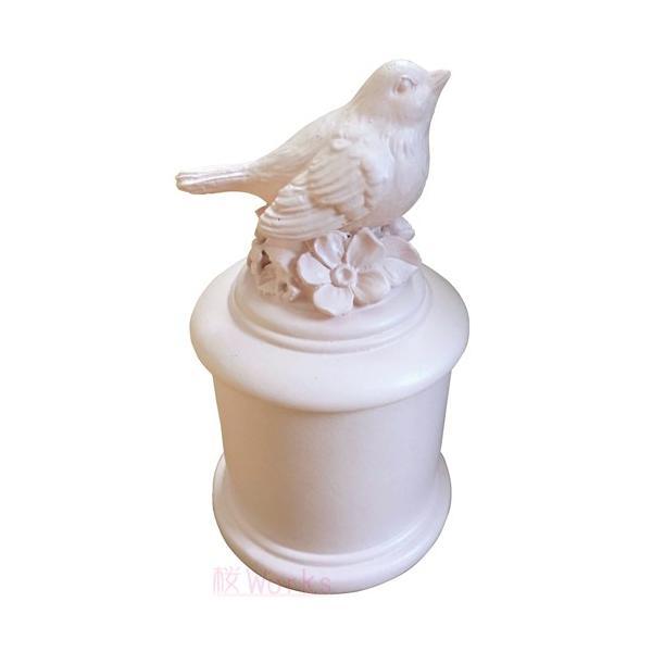 小物入れ レトロ 輸入雑貨 小鳥 グリーン おしゃれ 雑貨|sakuraworks|03