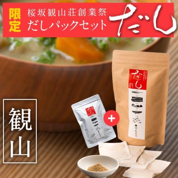 期間限定!創業祭お得なだしパックセット※合計2000円以上購入で送料半額|sakurazaka-kanzan