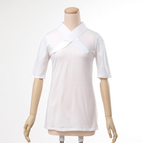 和装下着「白のふぁんじゅ」 さっと簡単で綺麗で美しく着付けられる 女性用 M/L/LL【メール便対応】|sakusaku-plus