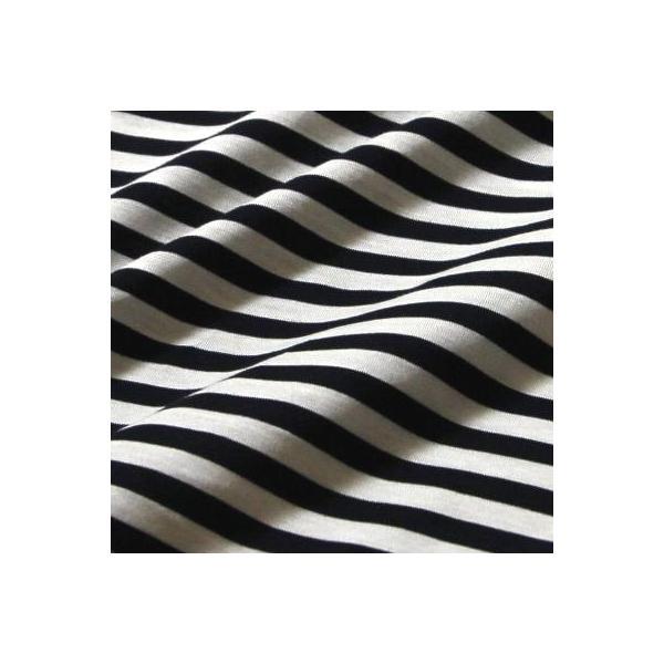 Tシャツ半襦袢 半襦袢 シマシマ ふぁんじゅ  素早く美しい衿元 本体綿100% M L LL 女性用 紺×白、グレー×白 日本製 ゆうパケット対応|sakusaku-plus|05