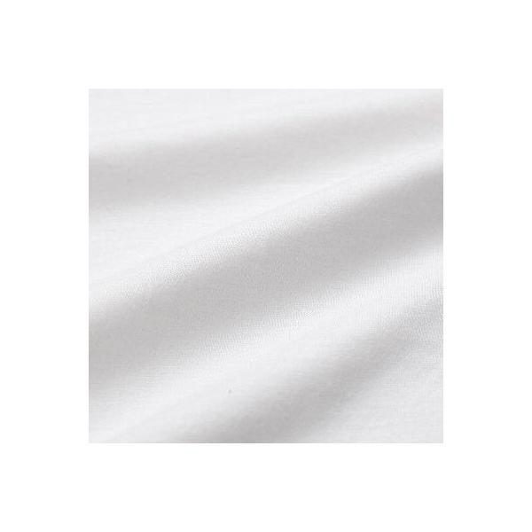 大きいサイズ 3L Tシャツ半襦袢 半襦袢 ふぁんじゅ  シンプルな 白衿 素早く美しい衿元 本体綿100% 女性用 白 日本製     sakusaku-plus 03