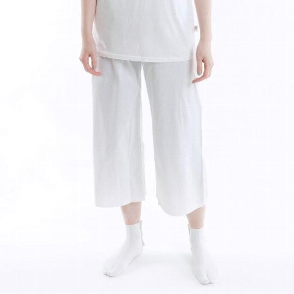 「履きごこちの下ばき」 さらっと気持ち良い♪上質コットン100%の下ばき 女性用 M/L/LL 紺×白、グレー×白|sakusaku-plus