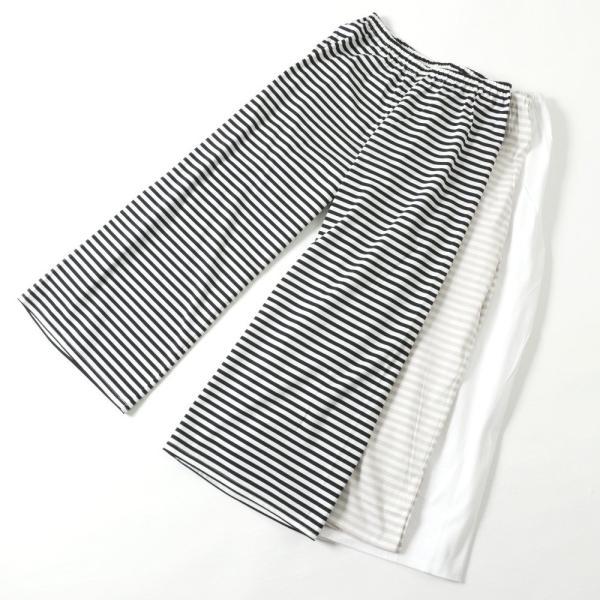 「履きごこちの下ばき」 さらっと気持ち良い♪上質コットン100%の下ばき 女性用 M/L/LL 紺×白、グレー×白|sakusaku-plus|02