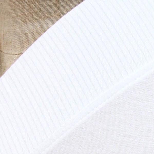 大きいサイズ3L Tシャツ半襦袢 半襦袢 ふぁんじゅ 夏向け 絽 簡単に美しい衿元 本体綿100% 女性用 白 日本製    |sakusaku-plus|02