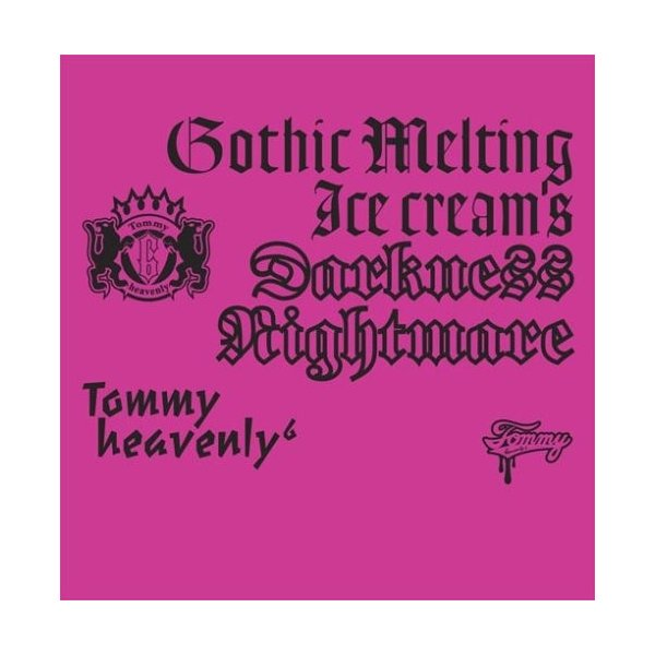 "Tommy heavenly6 Tommy february6 Gothic Melting Ice Cream's Darkness""Nightmare""(DVD付)CD+DVD, Limited Edition