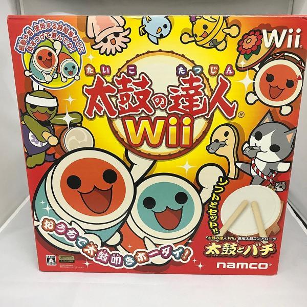 箱付き 太鼓の達人Wii (専用太鼓コントローラ「太鼓とバチ」同梱)|sakusaku3939