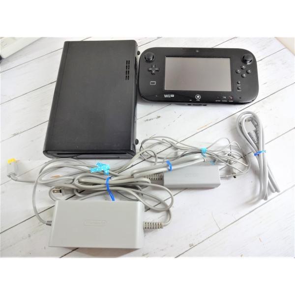 ソフト付 Wii U プレミアムセット 32GB 本体 黒 白  中古  すぐに遊べます マリオ スプラトゥーン スマブラ|sakusaku3939|03