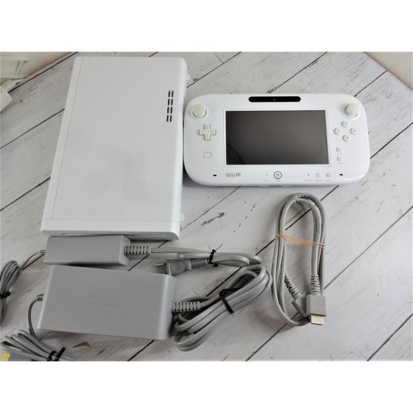ソフト付 Wii U プレミアムセット 32GB 本体 黒 白  中古  すぐに遊べます マリオ スプラトゥーン スマブラ|sakusaku3939|04
