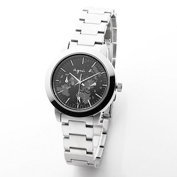 purchase cheap d734c 2c496 アニエスベー agnes b クロノグラフ 腕時計 シルバー 時計 ...